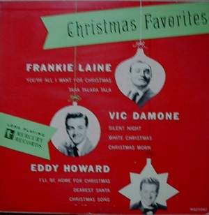 ★ Frankie Laine,Vic Damone,Eddy Howard[Christmas Favarites]Mercury MG25082