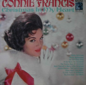 ★ Conny Francis「Christmas In My Heart」MGM E/ES3792