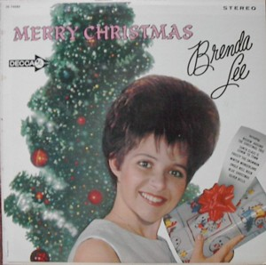 ★ Brenda Lee「Merry Christmas」Decca DL74583