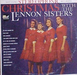 ★ The Lennon Sisters「Christmas With The Lennon Sisters」Dot DLP25343