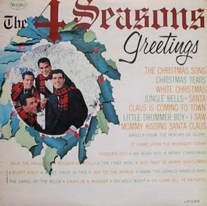 ★ The 4 Seasons「Greetings」 VEEJAY LP1055
