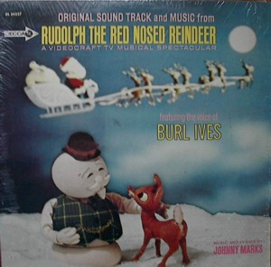 ★ Burl Ives「Rudolph The Red Nose Reindeer」Decca DL34327