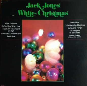 Jack Jones「White Christmas」MCA15036