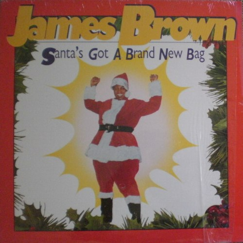 James_brown「Santa's Got A Brnd New Bag」Rhino R1-70139