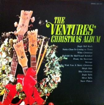 The Ventures「The Ventures In Christmas(ベンチャーズのクリスマスパーティ」東芝LBS70151