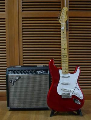 Fender Japan 57Stratocaster、Sidekick Reverv30