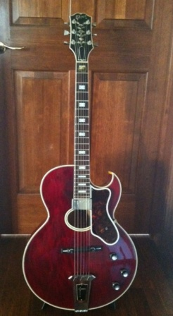 Gibson Howard Roberts Custom 70年代後期 2012年4月 Woodman