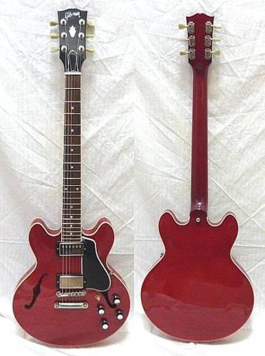 2000年代GibsonES-339 2010年5月Yahooオークションにて  [Sold!!]